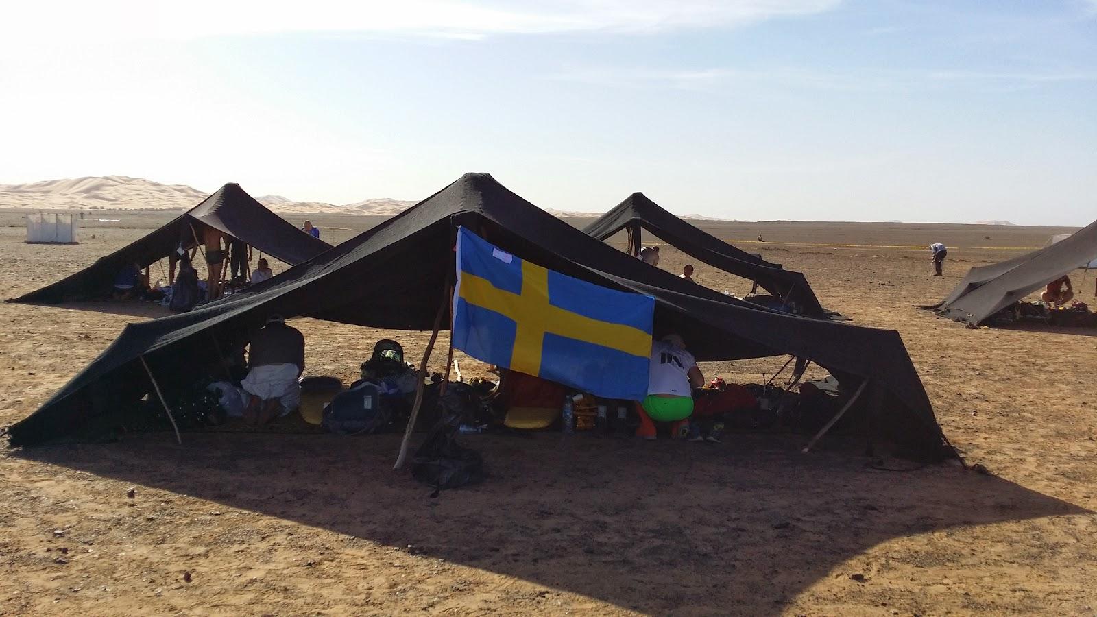 Tältet för MDS