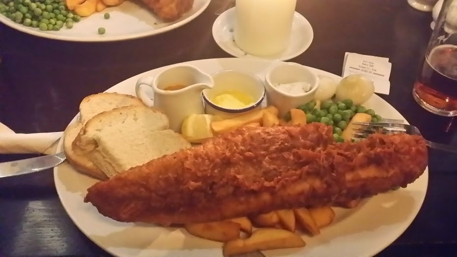 Fish n chips - The Codfather